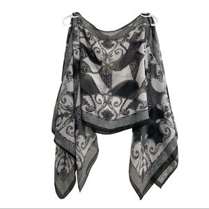 Patchington 7 Way scarf cover up. O/S